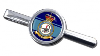 Royal Air Force Regiment No. 3 Round Tie Clip