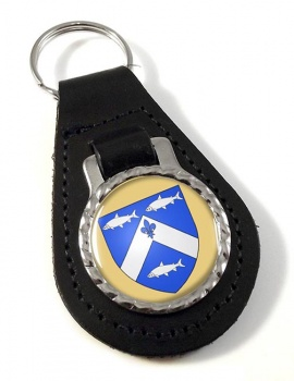 Trois-Rivieres (Canada) Leather Key Fob