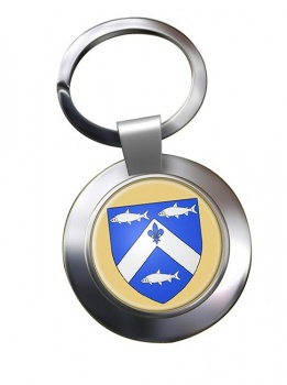Trois-Rivieres (Canada) Metal Key Ring