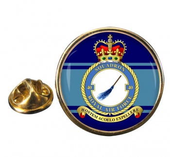 No. 40 Squadron (Royal Air Force) Round Pin Badge