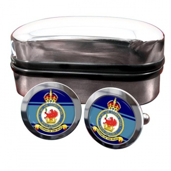 No. 402 Air Stores Park (Royal Air Force) Round Cufflinks