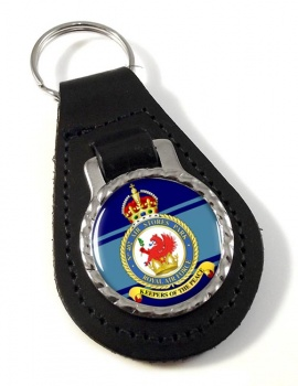 No. 402 Air Stores Park (Royal Air Force) Leather Key Fob