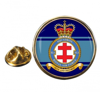 No. 41 Squadron (Royal Air Force) Round Pin Badge