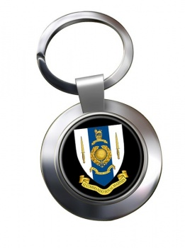 42 Commando Royal Marines Chrome Key Ring