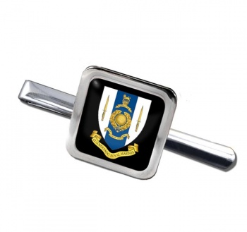 42 Commando Royal Marines Square Tie Clip
