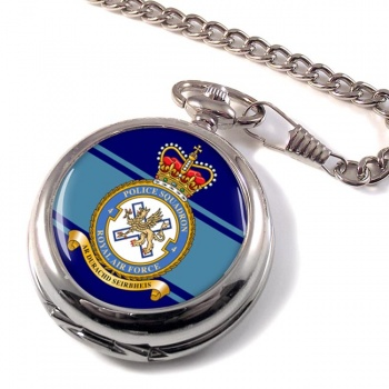 No. 4 Police Squadron (Royal Air Force) Pocket Watch