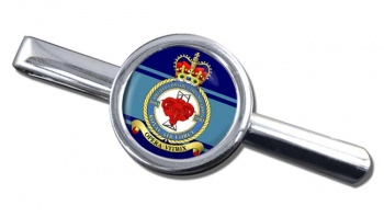 No. 5003 Airfield Construction Squadron (Royal Air Force) Round Tie Clip