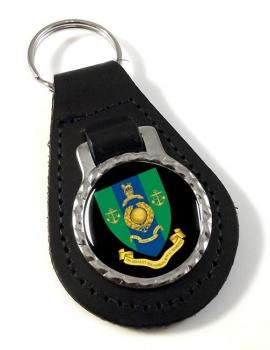 539 Assault Squadron Royal Marines Leather Key Fob