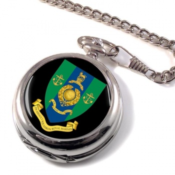 539 Assault Squadron Royal Marines Pocket Watch