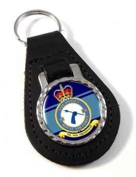 No. 55 Squadron (Royal Air Force) Leather Key Fob