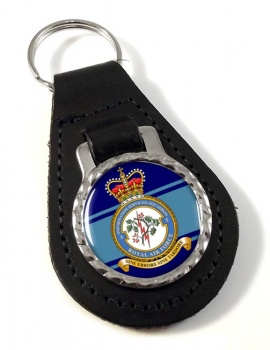 No. 5 Information Services Squadron (Royal Air Force) Leather Key Fob
