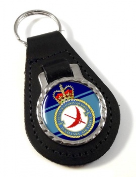 No. 601 Squadron RAuxAF Leather Key Fob