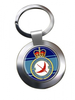 No. 601 Squadron RAuxAF Chrome Key Ring