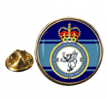 No. 607 Squadron RAuxAF Round Pin Badge
