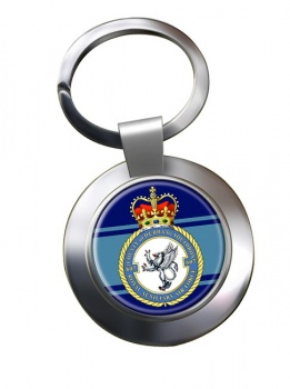 No. 607 Squadron RAuxAF Chrome Key Ring