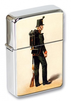60th Rifles 1845 Flip Top Lighter
