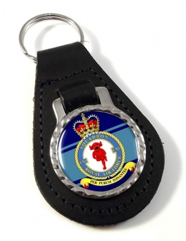 No. 61 Squadron Leather Key Fob