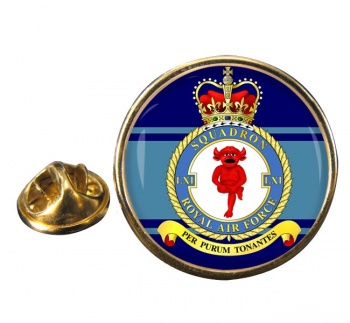 No. 61 Squadron Round Pin Badge