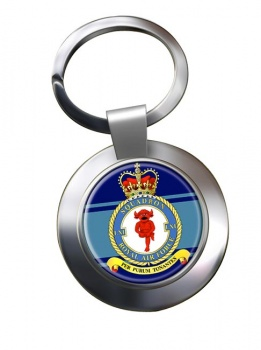 No. 61 Squadron Chrome Key Ring