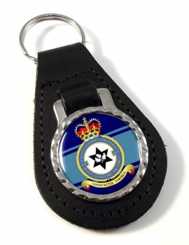 No. 615 Squadron RAuxAF Leather Key Fob