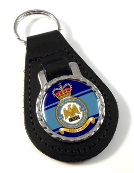 Royal Air Force Regiment No. 63 Leather Key Fob