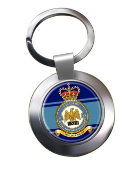 Royal Air Force Regiment No. 63 Chrome Key Ring