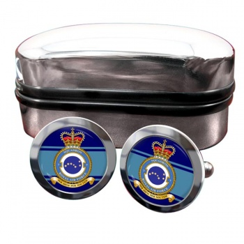 No. 7 Squadron (Royal Air Force) Round Cufflinks