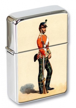 71st Foot Highland Light Infantry 1862 Flip Top Lighter