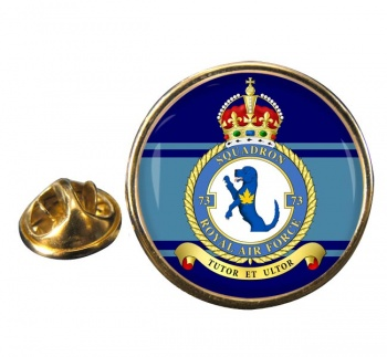 No. 73 Squadron (Royal Air Force) Round Pin Badge
