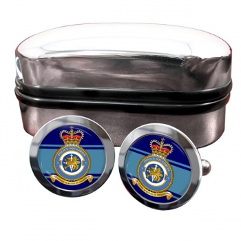 No. 7 Police Squadron (Royal Air Force) Round Cufflinks
