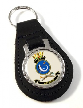 817 Squadron RAN Leather Key Fob