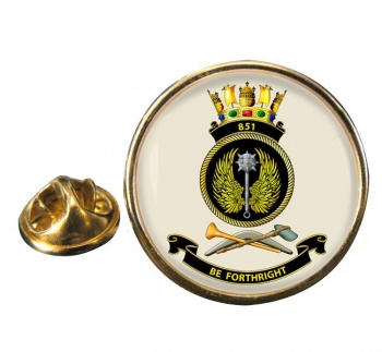 851 Squadron RAN Round Pin Badge