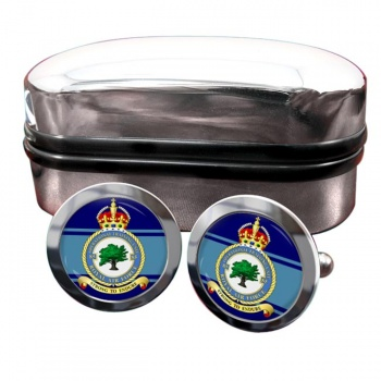 No. 85 Operational Training Unit (Royal Air Force) Round Cufflinks