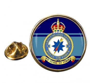 No. 8 Group Headquarters (Royal Air Force) Round Pin Badge
