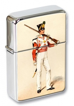 90th Perthshire Light Infantry 1833 Flip Top Lighter