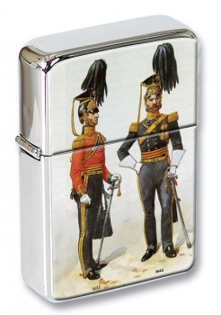 9th Queen's Royal Lancers 18321842 Flip Top Lighter