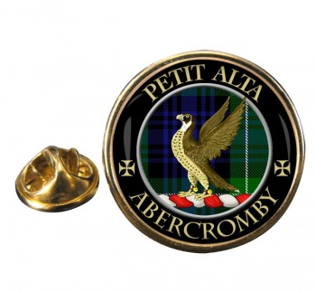 Abercromby Scottish Clan Round Pin Badge