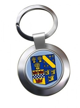 Aberdeenshire (Scotland) Metal Key Ring