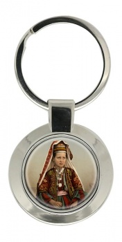 A Bethlehem Girl Key Ring