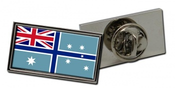 Civil Air Ensign of Australia Rectangle Tie Pin