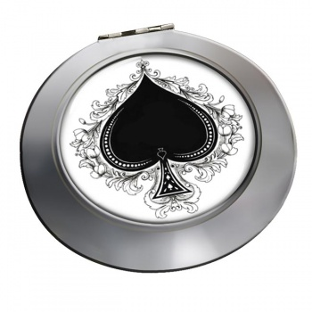 Ace of Spades Chrome Mirror