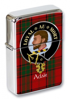 Adair Scottish Clan Flip Top Lighter