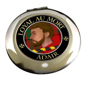 Adair Scottish Clan Chrome Mirror