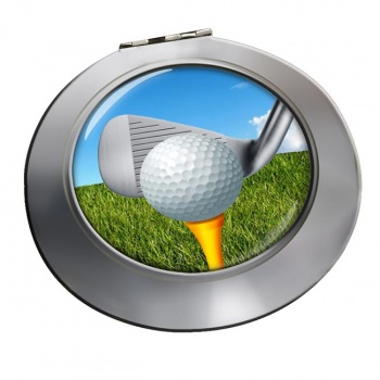 Golf Addressing the ball Chrome Mirror