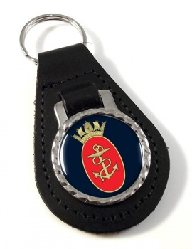 Admiralty Board RN Leather Key Fob