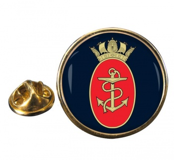Admiralty Board RN Round Pin Badge