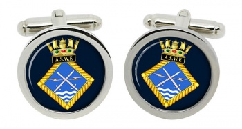 Admiralty Surface Weapons Establishment (Royal Navy) Round Cufflinks