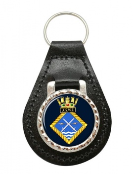 Admiralty Surface Weapons Establishment (Royal Navy) Leather Key Fob