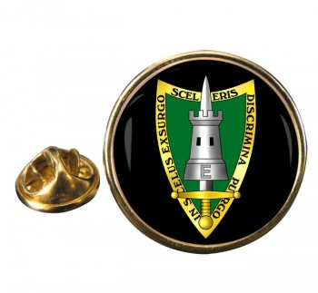Allied Forces Central Europe AFCENT Round Pin Badge