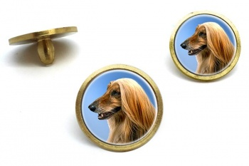 Afghan Hound  Golf Ball Marker Set